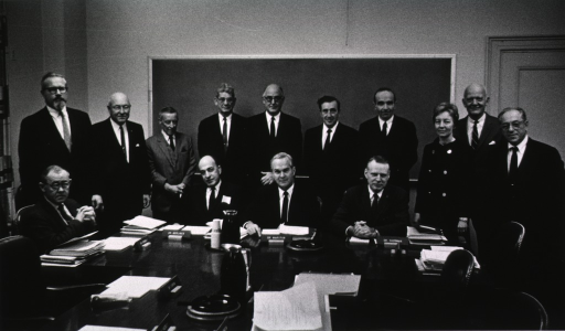 <p>Shows Director's Advisory Committee members gathered for a group photo.</p>