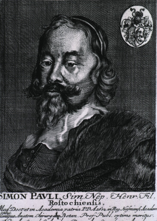 <p>Rect. print, left pose; coat-of-arms in upper right corner.</p>