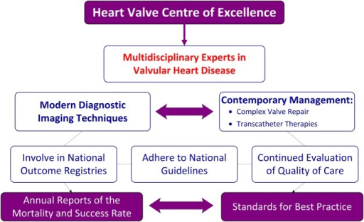 Heart valve centre of excellence.