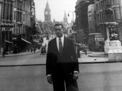 Professor San Juan in London, Master's Degree in Thoracic Surgery-1957.