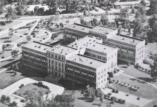 <p>Aerial view of the Professional Services School campus.</p>