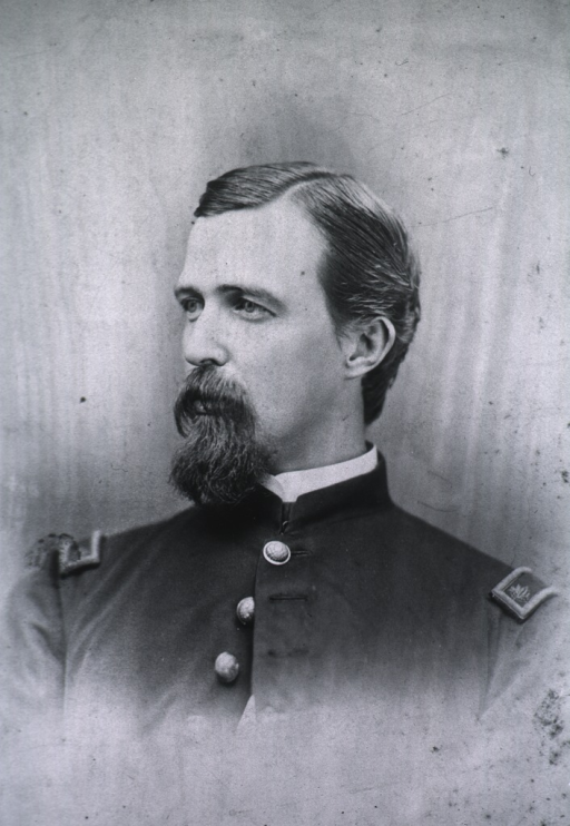 <p>Head and shoulders, left profile, wearing uniform of Major in the Civil War.</p>