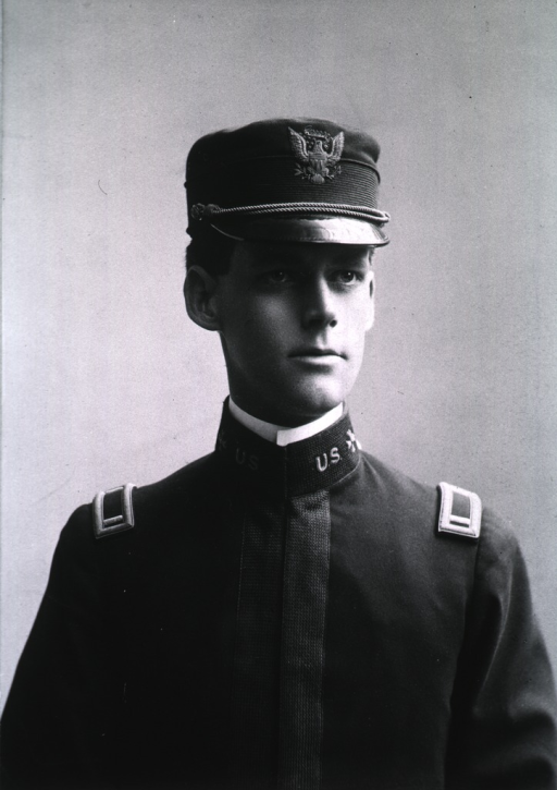 <p>Half-length, front pose, wearing uniform and cap.</p>