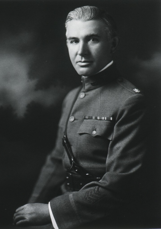 <p>Seated, half length, left pose.  In uniform of Lt.-Col., M.C.</p>