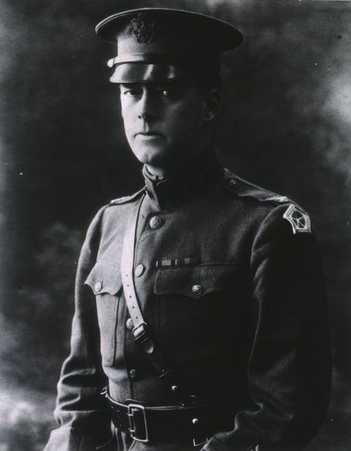 <p>Half-length, left pose, wearing uniform and cap.</p>