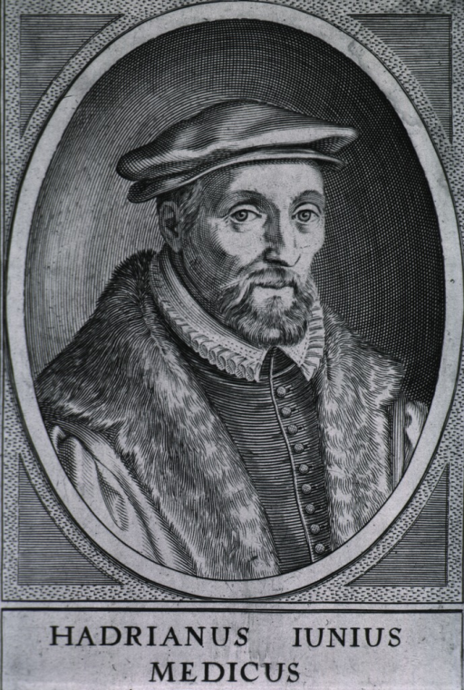 <p>Head and shoulders, right pose, full face; wearing robe trimmed with fur and cap; in oval.</p>