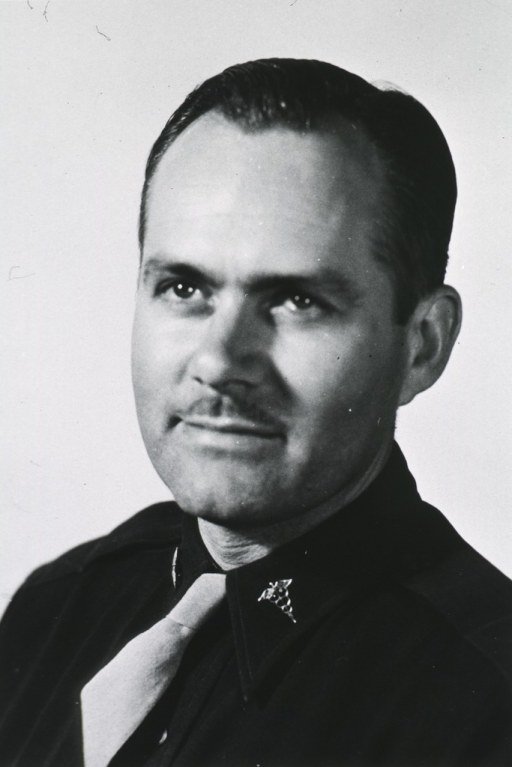 <p>Head and shoulders, full face.  In uniform of Lt. Col., M.C., U.S.A.F.</p>