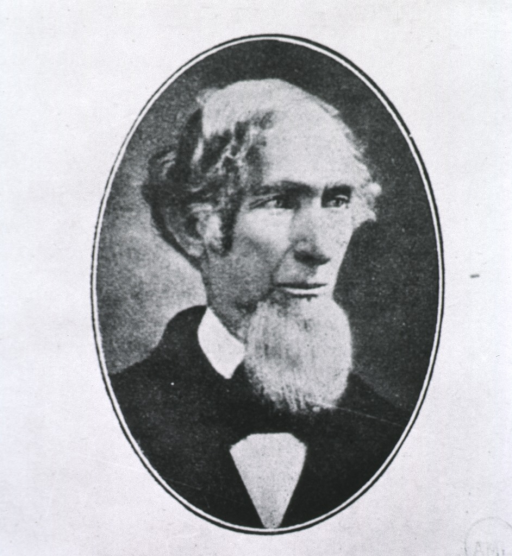 <p>Head and shoulders as an old man.</p>