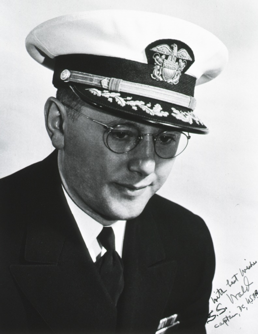 <p>Head and shoulders, full face, wearing uniform of Naval Officer.</p>