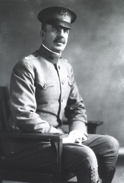 <p>Seated, three quarter length, hands in lap; right pose.  In uniform Col. M.C.</p>
