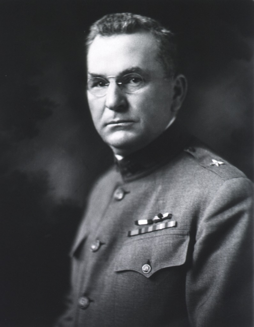 <p>Head and shoulders, left pose, face front; in uniform of Brig.-Gen., M.C.</p>