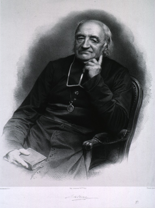<p>Three-quarter length, seated, left pose, full face; hand to chin; other hand holding book.</p>
