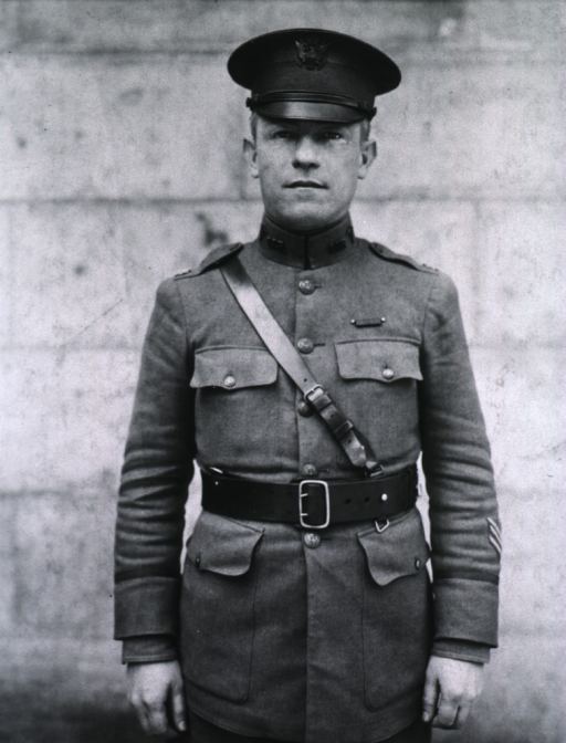 <p>Three-quarter length, standing, full face; wearing uniform and cap (Lieut. Colonel).</p>