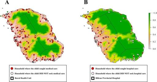 Healthcareseeking Behavior Of Children Who Experienced Openi - Pneumonia us map