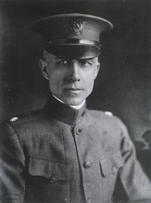 <p>Head and shoulders, front pose, wearing U.S. Army Medical Corps uniform.</p>