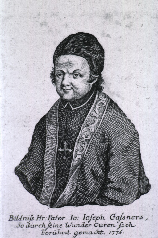<p>Half-length, left pose, full face; wearing clerical robes and cap.</p>