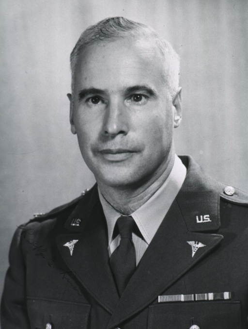 <p>Head and shoulders, full face; in uniform of colonel.</p>