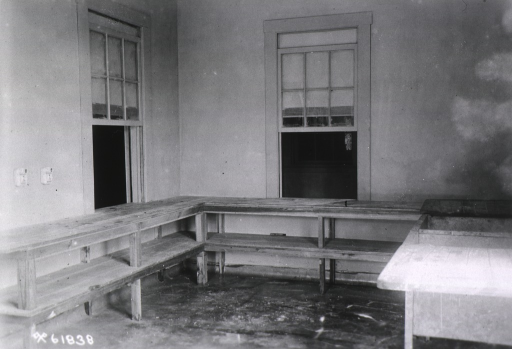 <p>Interior of ward diet kitchen.</p>