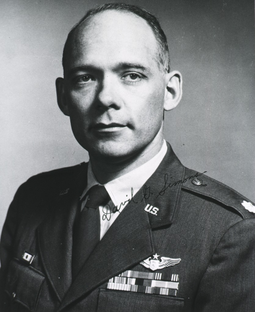 <p>Head and shoulders, full face, wearing U.S. Air Force uniform with insignia and ribbons.</p>