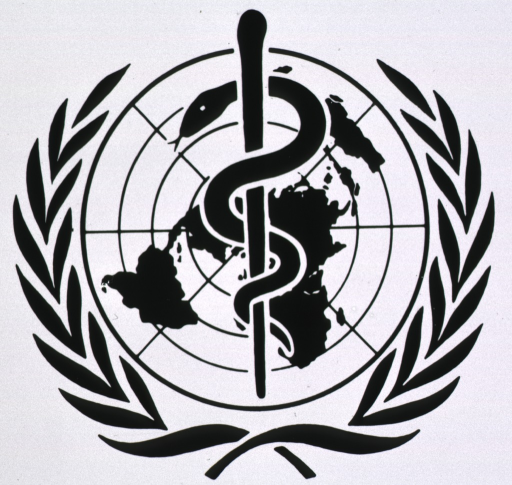 <p>The Symbol of the World Health Organization.</p>