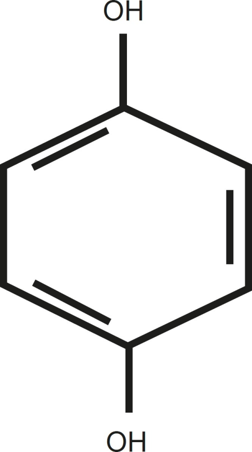 The structure of Hydroquinone