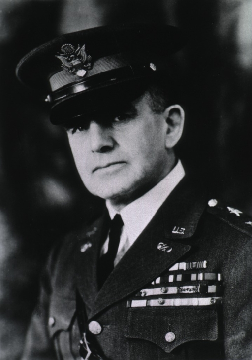 <p>Head and shoulders, left pose, full face; wearing uniform and cap (Major General).</p>
