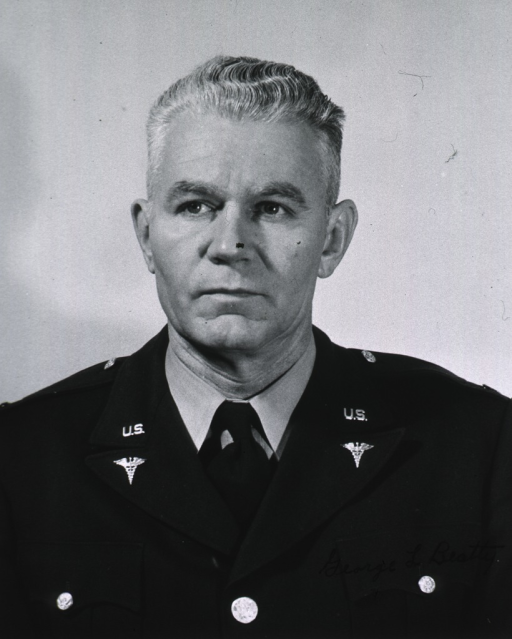 <p>Head and shoulders, full face, wearing uniform of Army Colonel.</p>