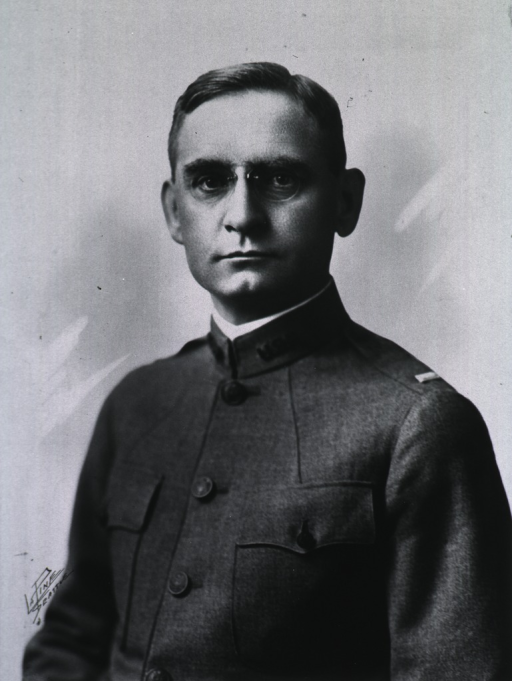 <p>Full face, wearing M.C. uniform (Captain).</p>