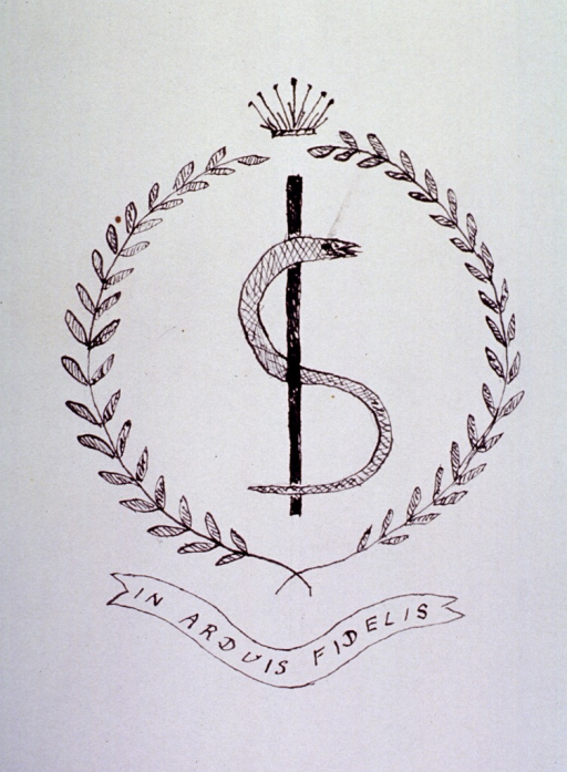 <p>Collar design of the uniform of the Royal Army Medical Corps.</p>