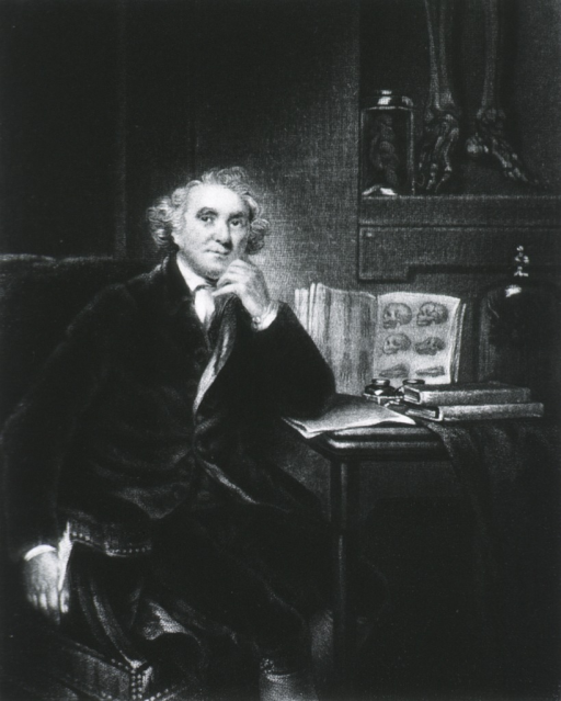 <p>Seated by table; three quarter length; right pose.</p>