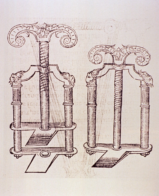 <p>A vice-like, mechanical apparatus.</p>