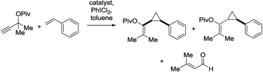CF synthesis of cyclopropane derivatives.29
