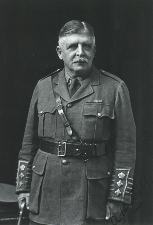 <p>Half length, front pose.  In uniform of British Major.</p>