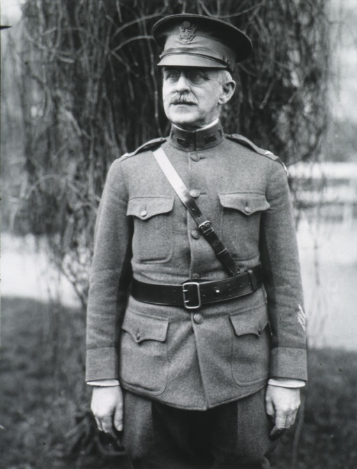 <p>Three-quarter length, standing, full face; wearing uniform and cap.</p>